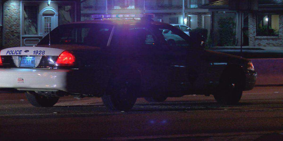 Pedestrian struck, injured by vehicle on Memorial Parkway