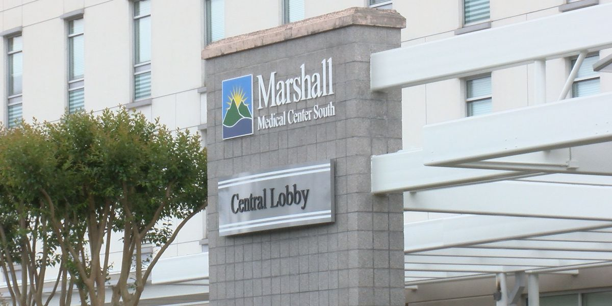 Marshall Medical Centers see decrease in COVID-19 patients