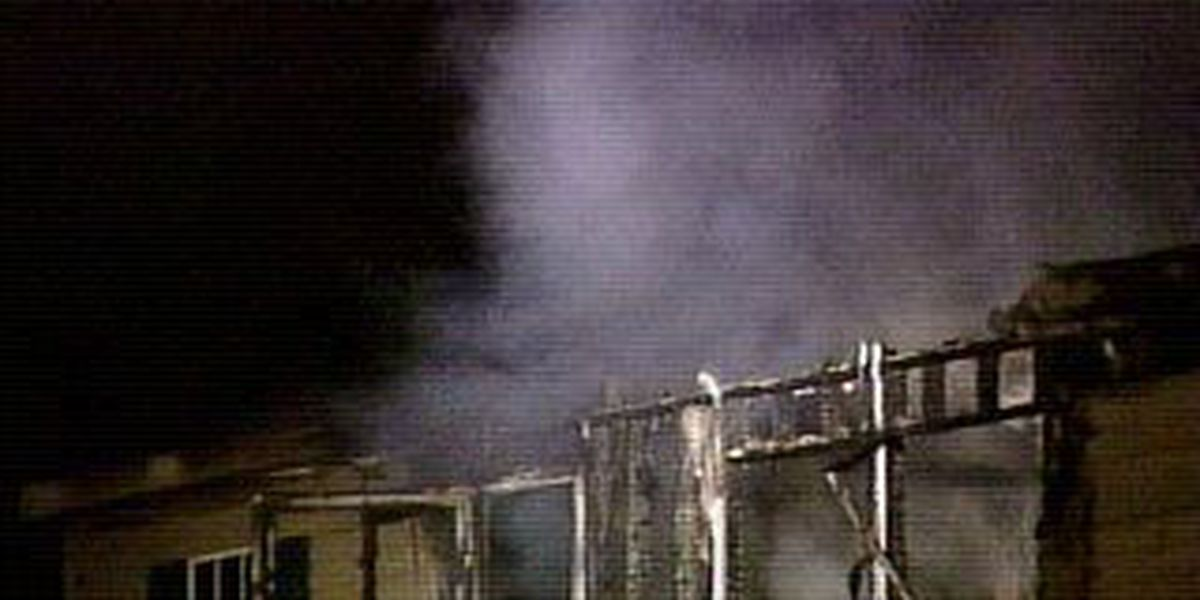 Fire in New Market destroys house
