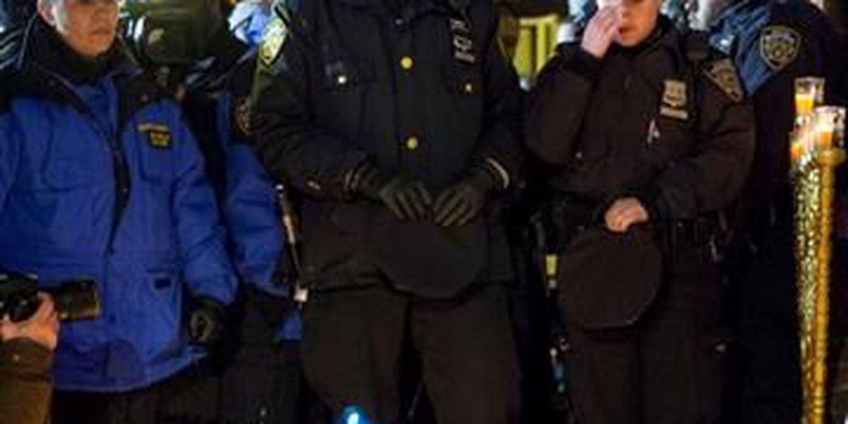 Police Officers On Alert After NYPD Killings