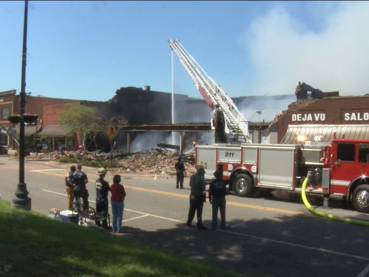 Downtown Moulton fire finally out after nearly 48 hours