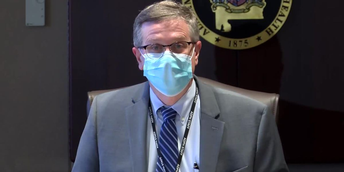 State Health Officer Dr. Scott Harris provides COVID-19 vaccine update Friday