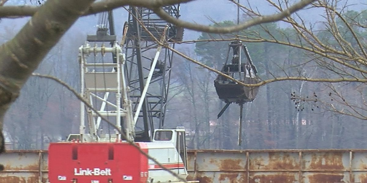 Severe weather delays cleanup operations at Jackson County Park Marina