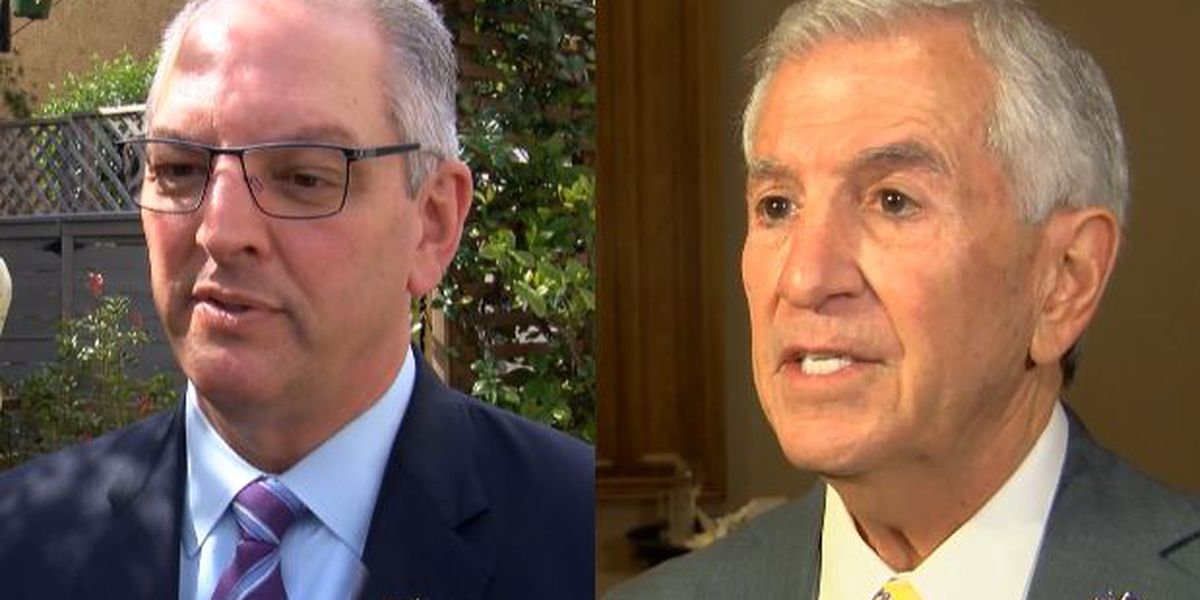 Nail-biter governor's race in Louisiana reaches final hours