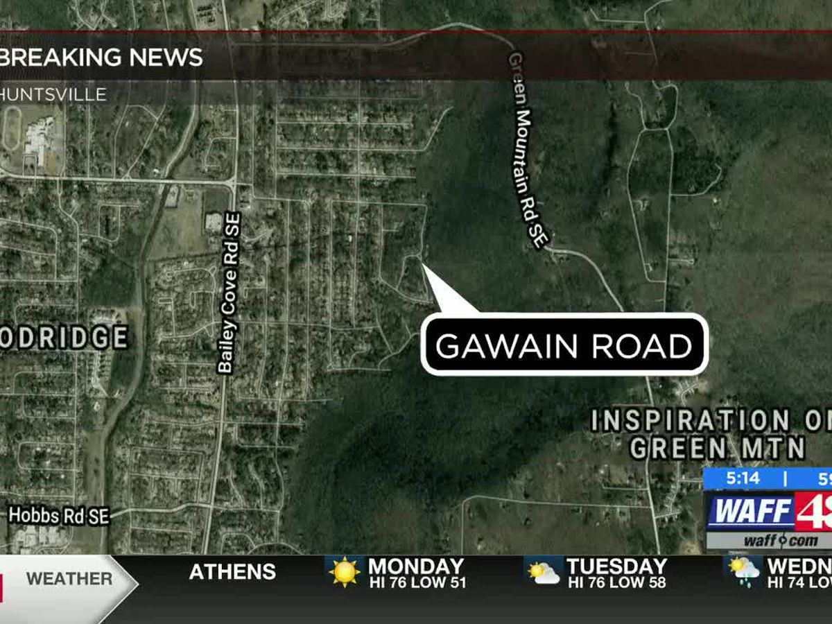 Shooting death investigation on Gawain Road in southeast Huntsville