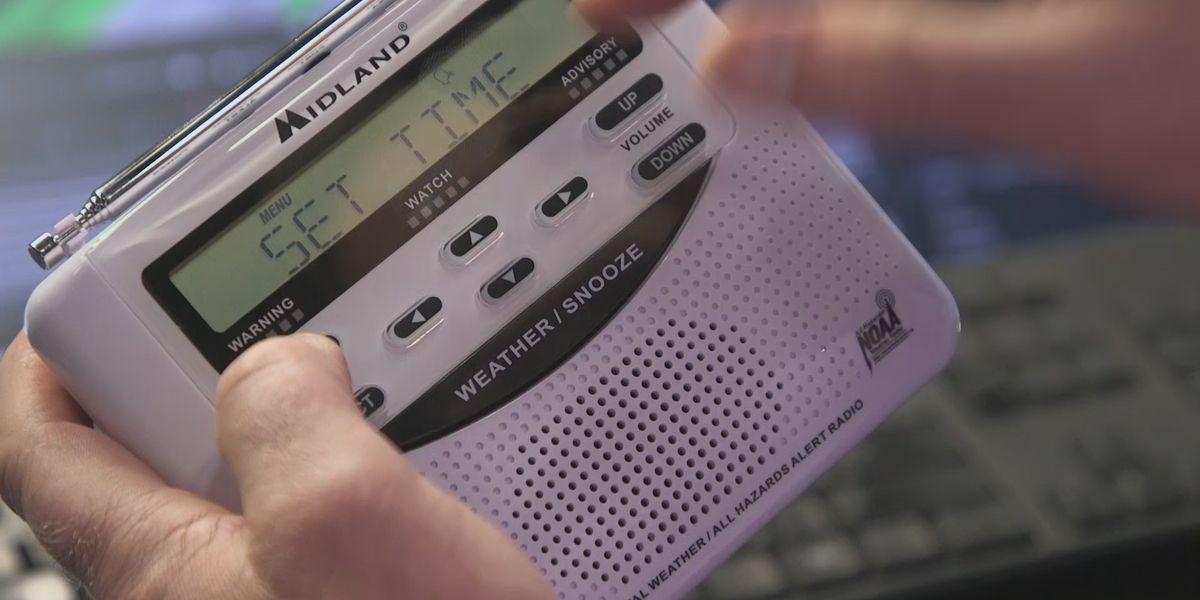 EMAs receive nearly 450 weather radios to distribute