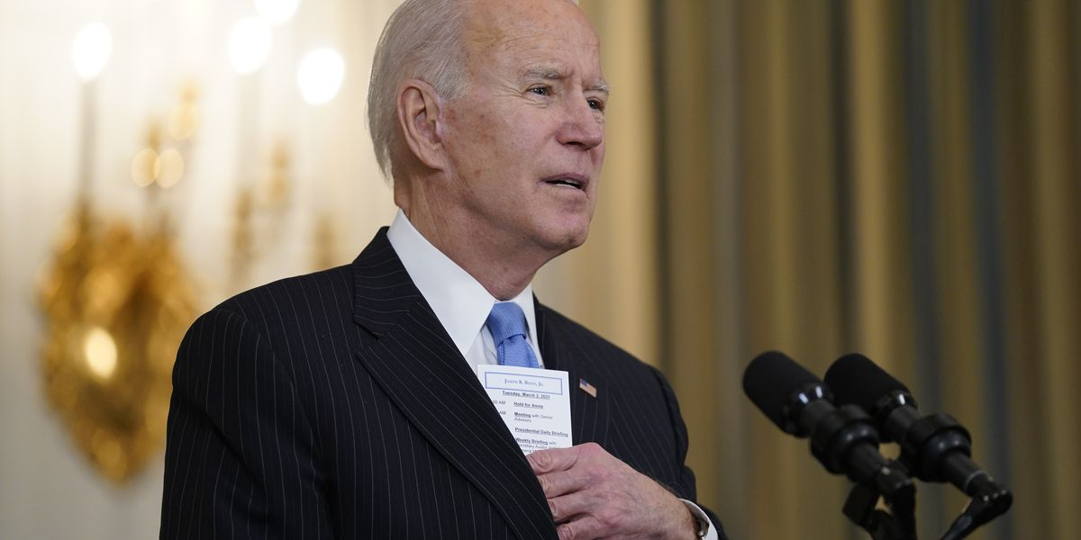 Official: Democrats OK tightened income limits for stimulus checks