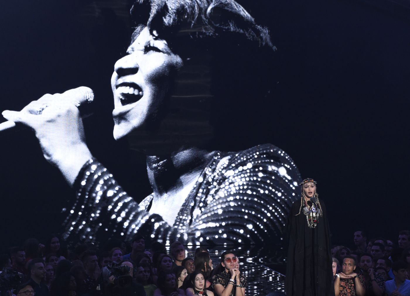 Madonna S Rambling Aretha Franklin Tribute Earns Backlash