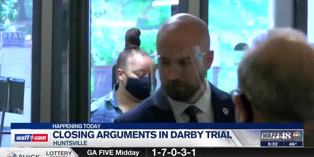 Day 4: Darby trial moves to closing arguments on Thursday