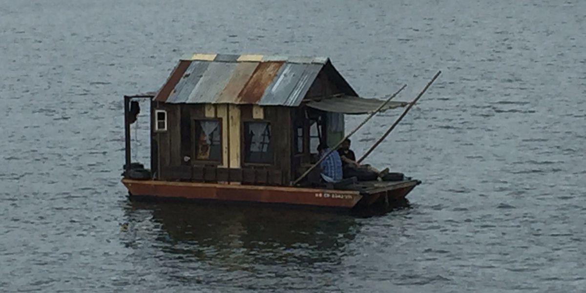 Shanty floating down the TN seeking hidden histories of river people