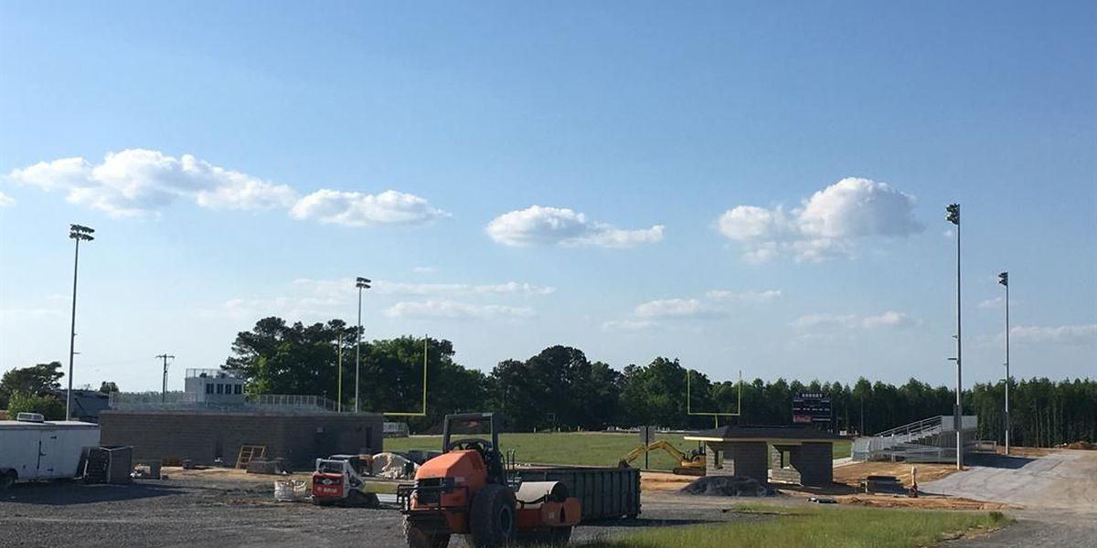 Work progressing on new Asbury Rams stadium