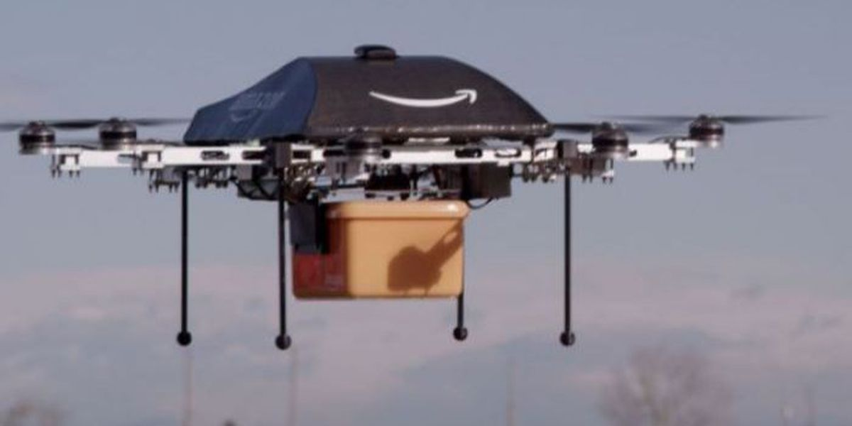 FAA gives Amazon permission to test air delivery drones