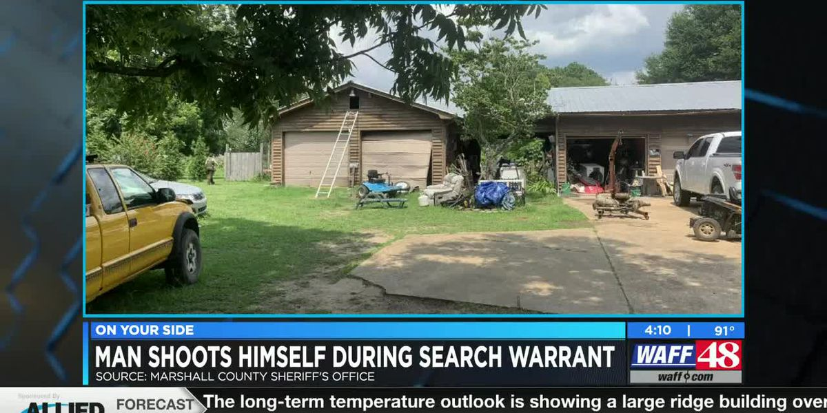 Deputies: Marshall County man shoots self during search warrant operation