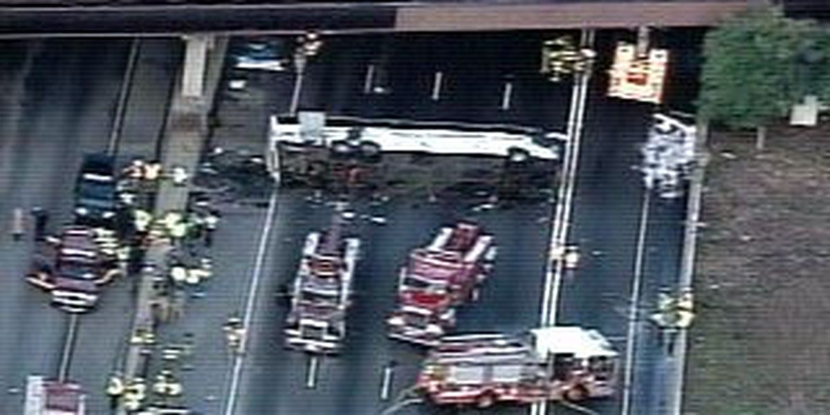 Investigators to make changes to ramp where bus crashed