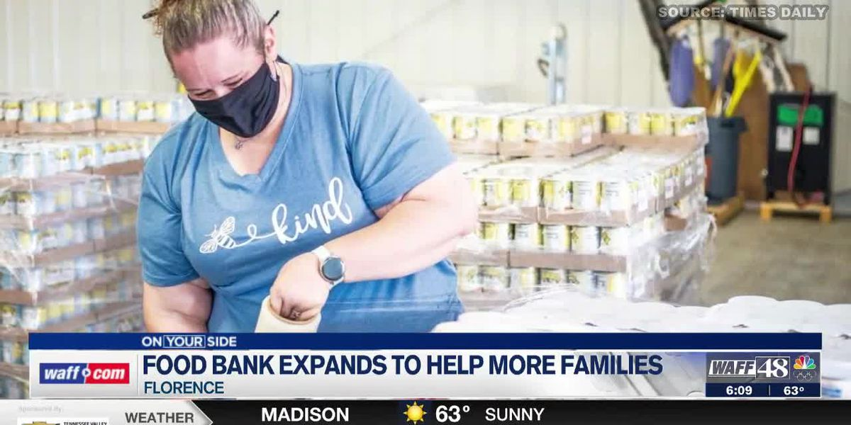 Food Bank of North Alabama opens new location in Florence