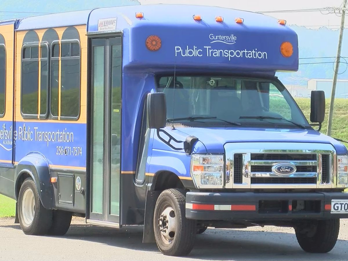 Even with safety measures, less people using Guntersville buses