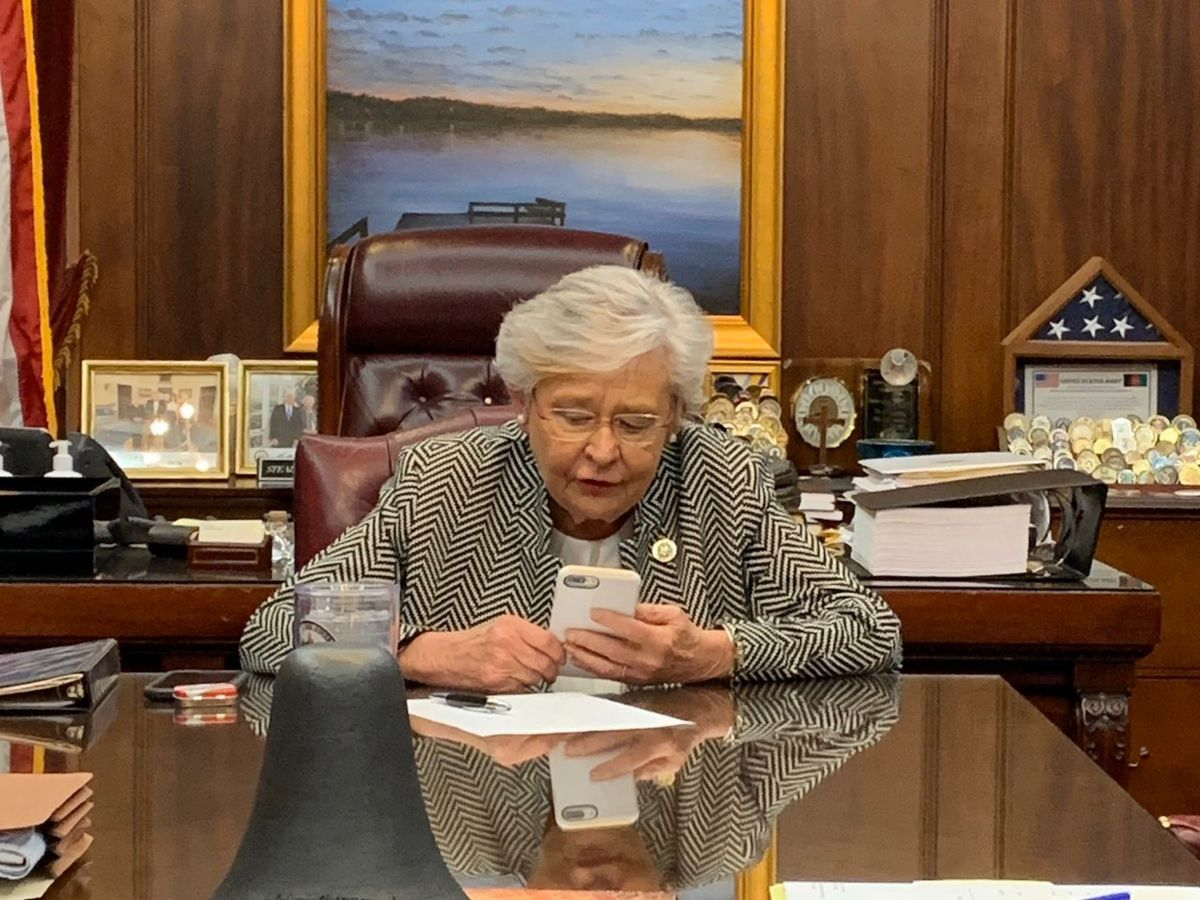 Gov. Ivey receives call from President Biden about recent Alabama storms