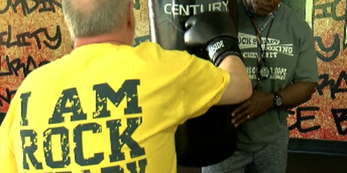 Parkinson's patients discover therapy at Huntsville boxing gym