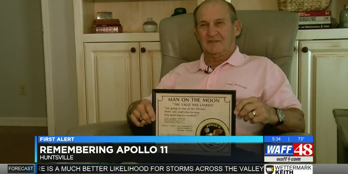 Florence man recounts his role in getting Apollo 11 to the moon