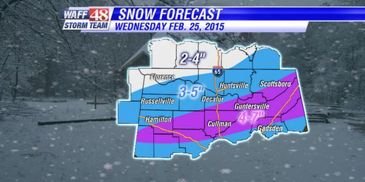 How Much Snow May Be Headed Our Way Today?
