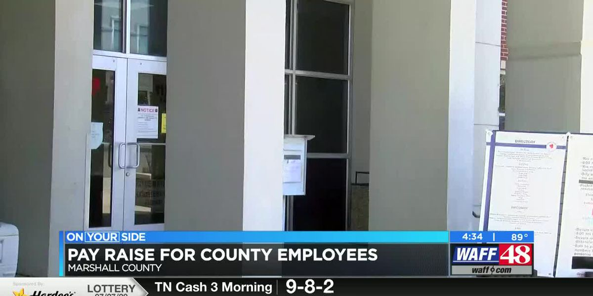 Marshall County government employees, deputies, to receive raise
