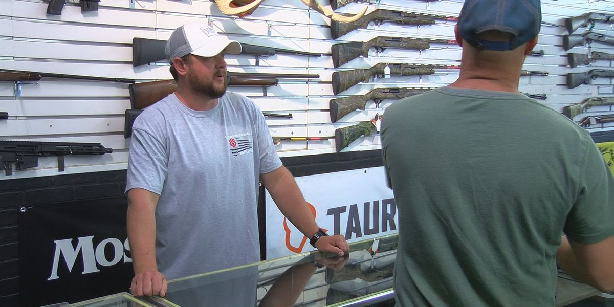 More people pulling the trigger and buying a gun in the Tennessee Valley