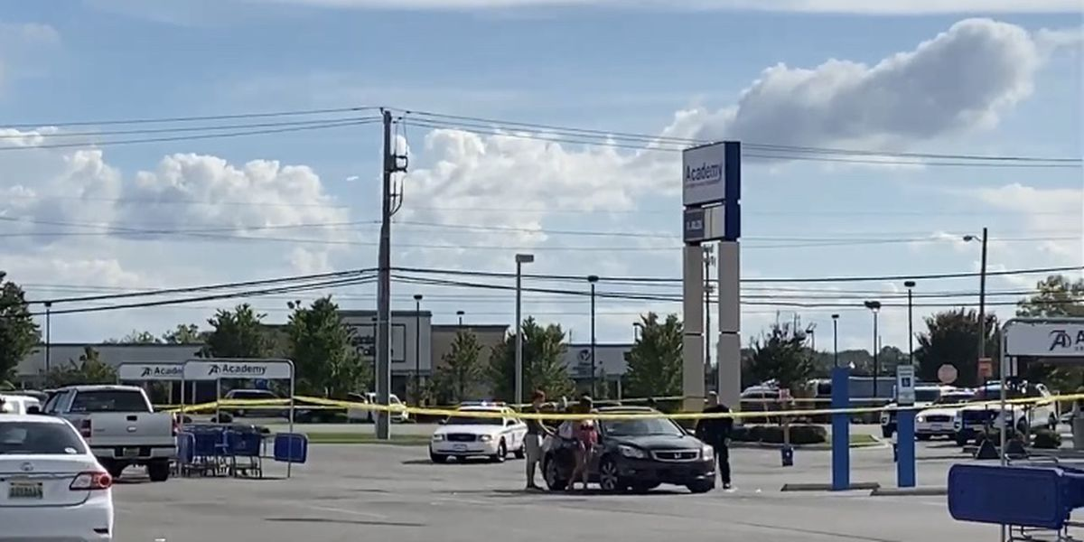 Huntsville Police searching for suspects in shooting near Academy Sports