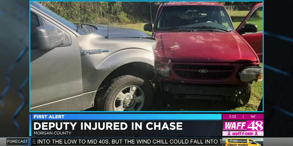 Morgan County deputy injured in police chase