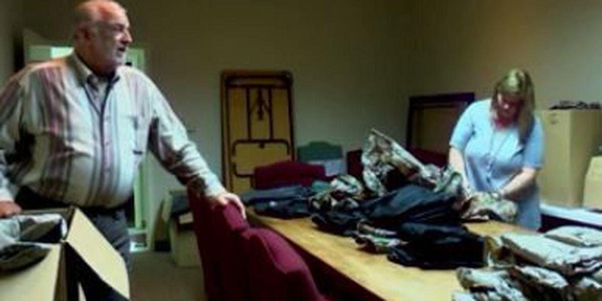 Frogg Toggs donates rain gear to hurricane evacuees in Arab