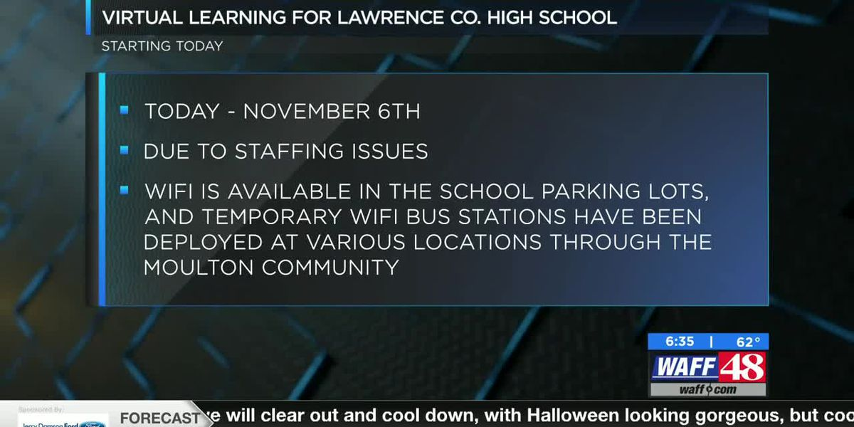 Lawrence County High School transitions to remote learning due to staffing issues