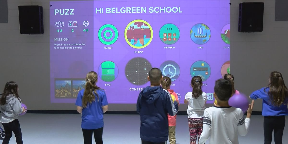 Belgreen School in Franklin County gets new interactive playground