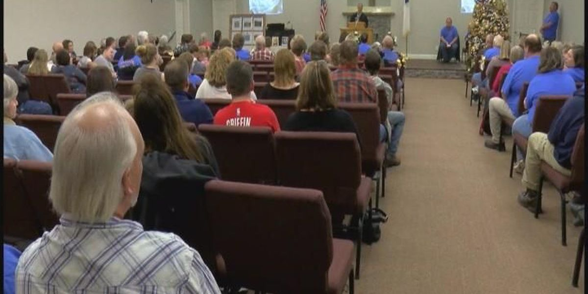 Rosalie holds memorial service for tornado victims one year later