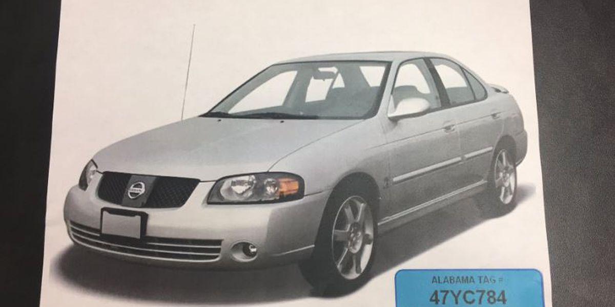 Huntsville Car Scene: Suspect Sought In Huntsville Woman's Murder; Victim's Car