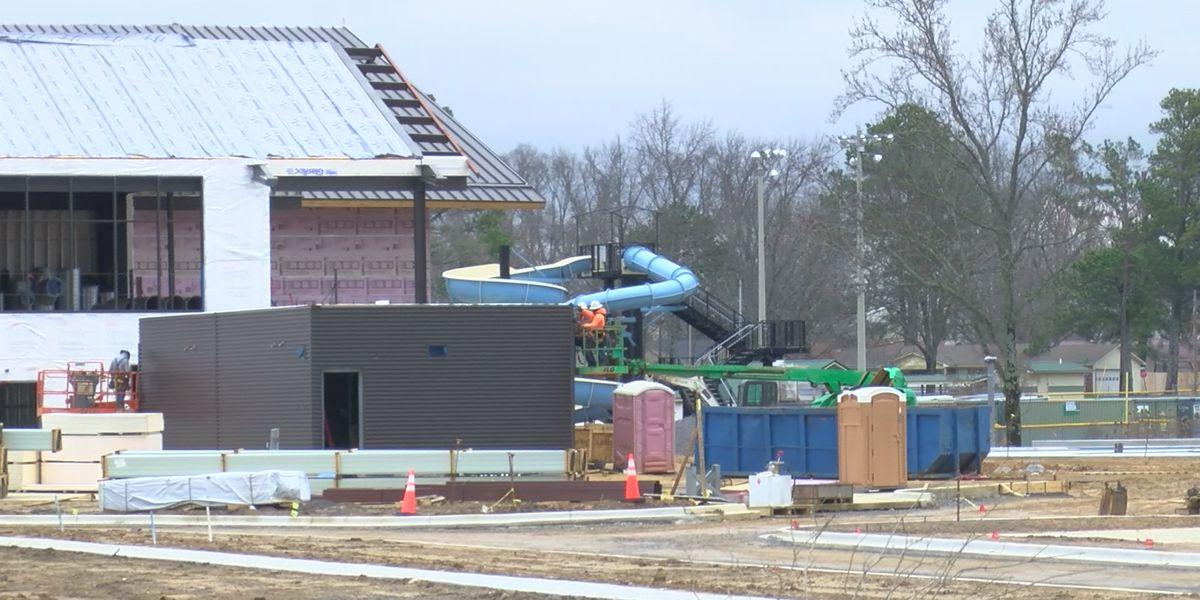 Construction underway on Albertville rec center, amphitheater