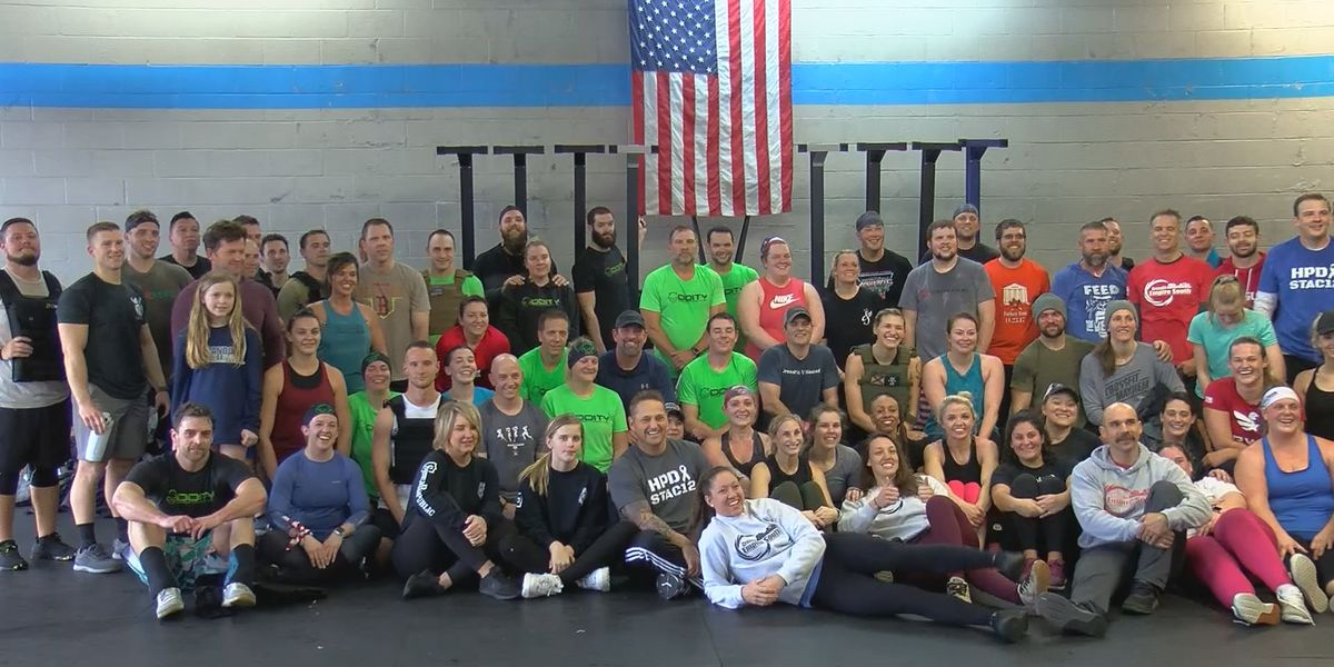 Community comes together for Crossfit fundraiser to honor fallen officer Billy Clardy III