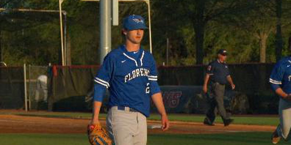 Florence baseball player drafted in 1st round