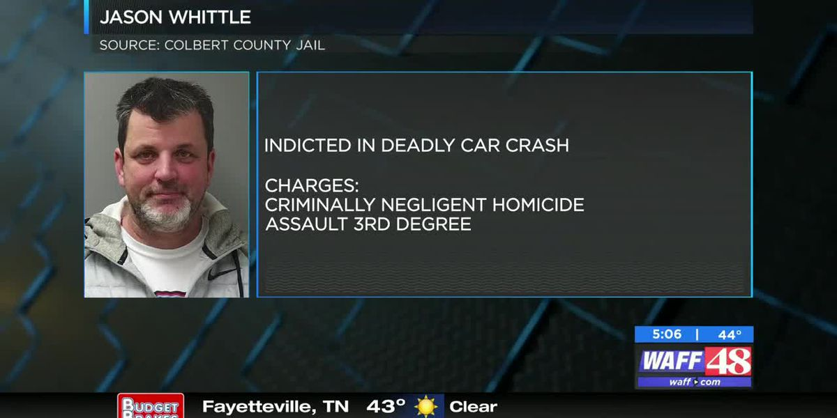 Man indicted in deadly Colbert County car crash