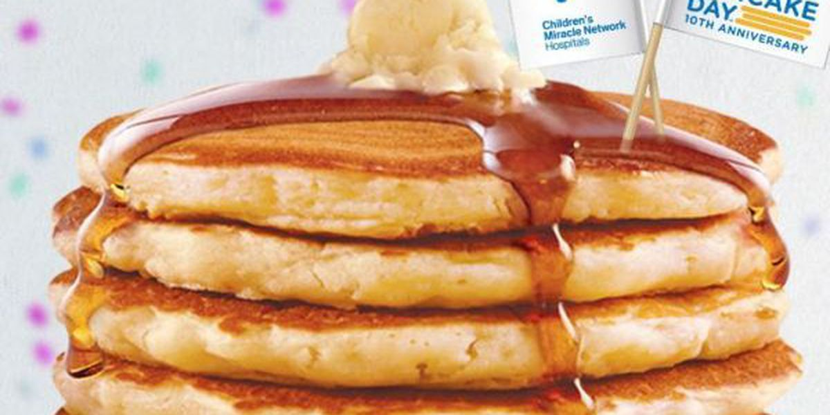 IHOP holds 10th annual National Pancake Day