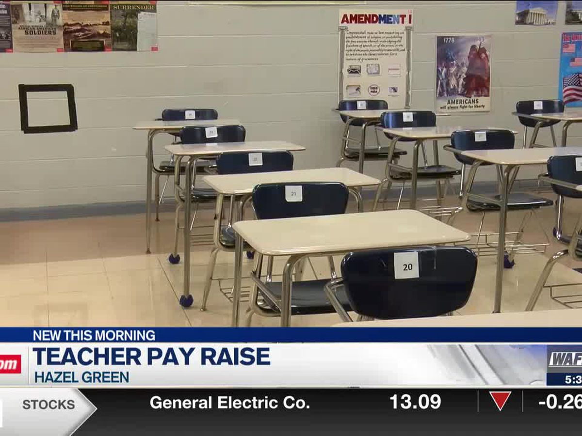 Madison County teacher reacts to statewide pay raise
