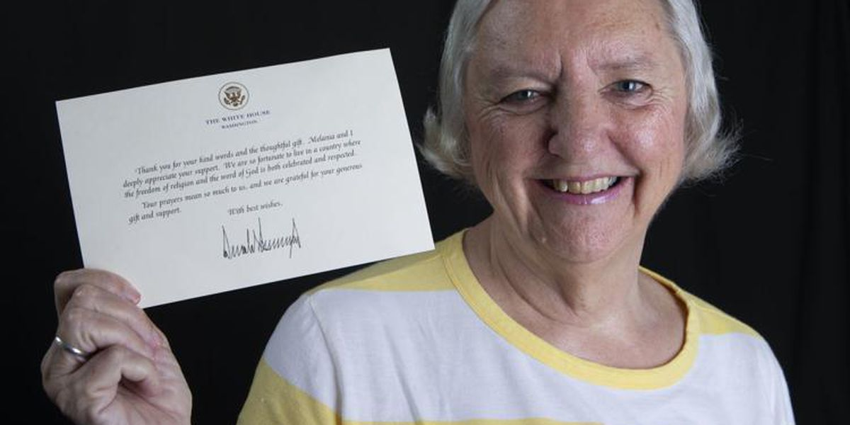 Tuscumbia resident gifts President Trump, receives 'thank you' note