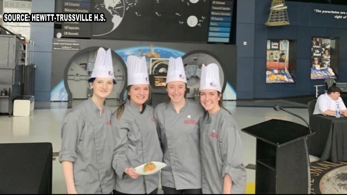 Alabama high school Culinary team has a recipe that is out of this world