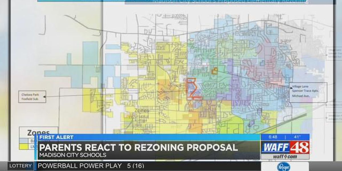 Parents react to Madison City rezoning proposal