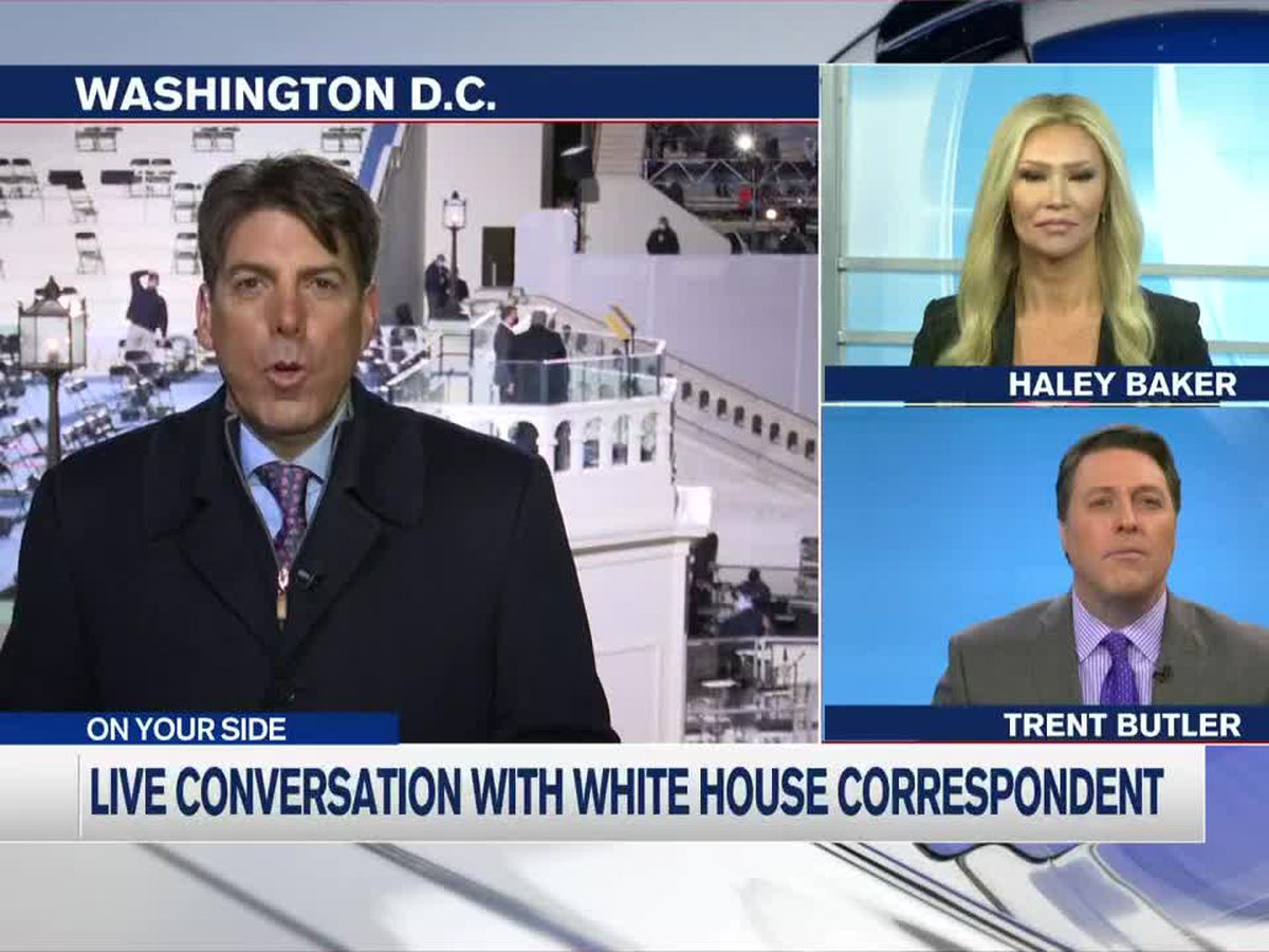 """This city right now is a fortress"" - White House correspondent gives insight into inauguration"
