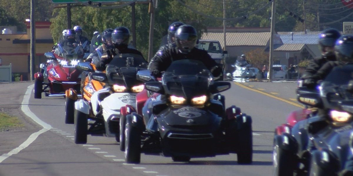 Cross-country ride takes Road Warriors through Marshall, Jackson counties
