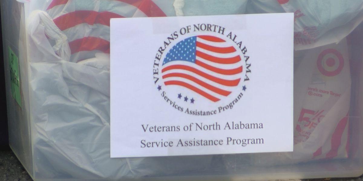 Food trucks at Cummings Research Park are helping homeless veterans