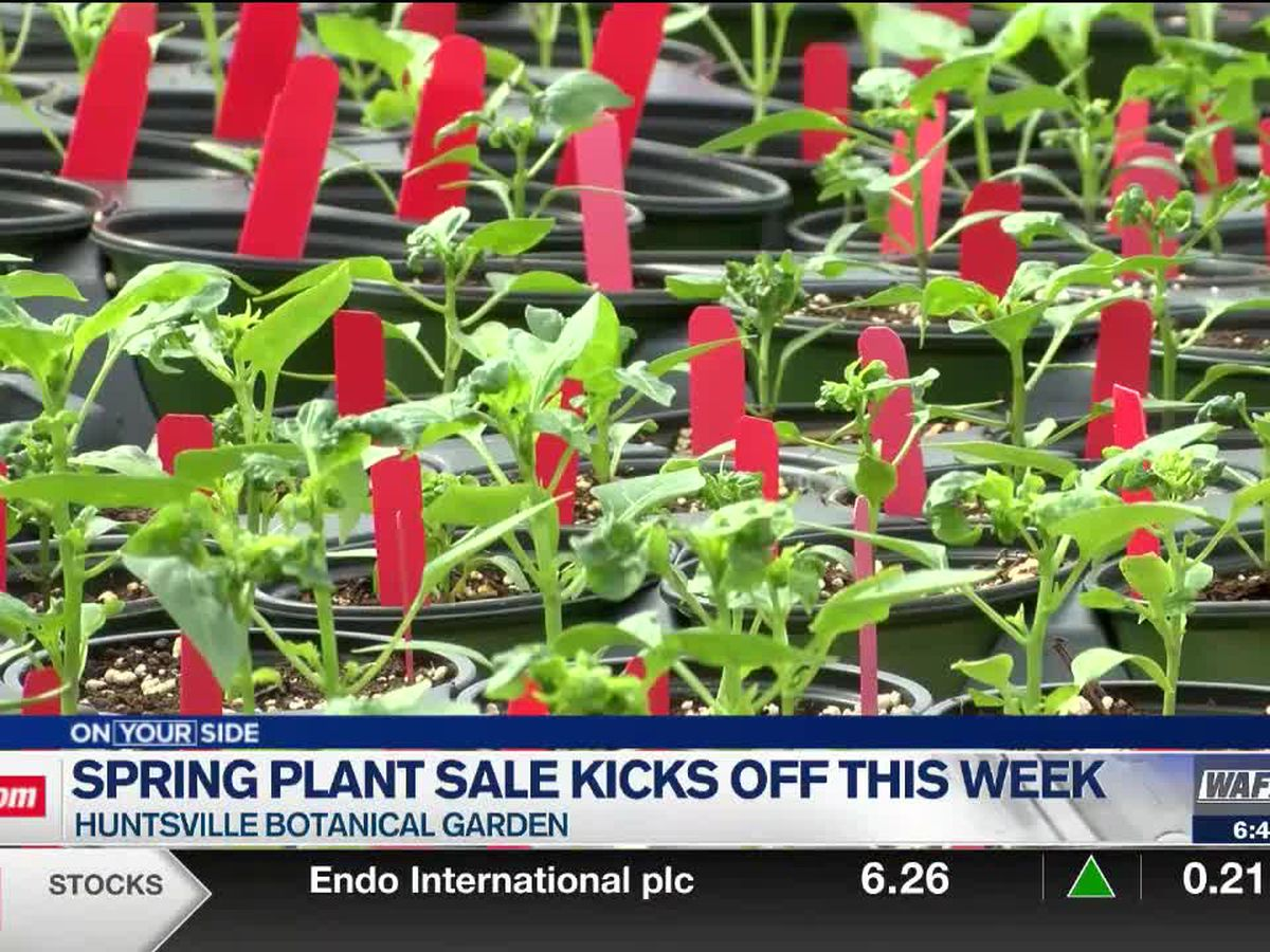 Spring Plant Sale kicks off this week at the Huntsville Botanical Garden