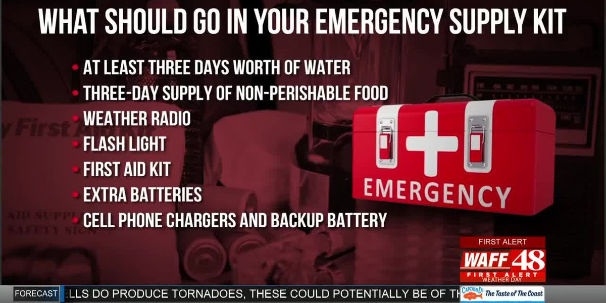 Creating an Emergency Supply Kit for Severe Weather