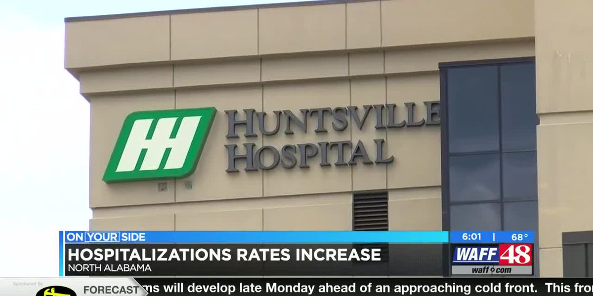 Hospitalization rates are increasing
