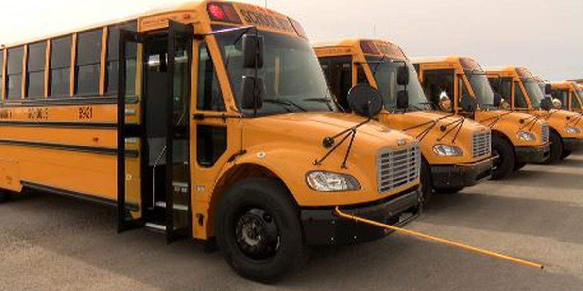 Limestone County Schools gets 30 new buses, restocking its fleet