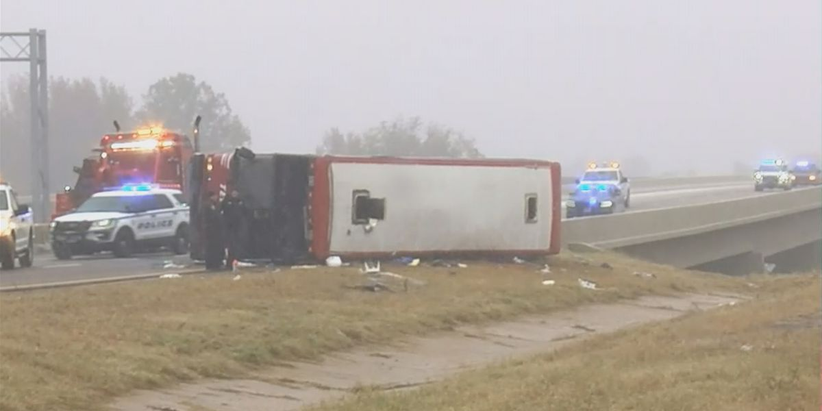 2 Huntsville women killed, 44 people injured in Mississippi bus crash
